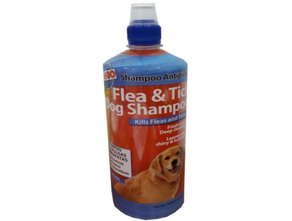 Shampoo Bongo antipulgas 1 litro 34onz