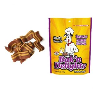 Meaty treats Bak´n Delight Tocino y queso 6 onz