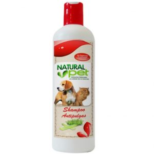 Natural Pet Shampoo Antipulgas 16 onz.