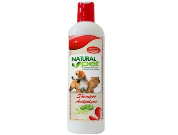 Natural Pet Shampoo Antipulgas 16 onz.