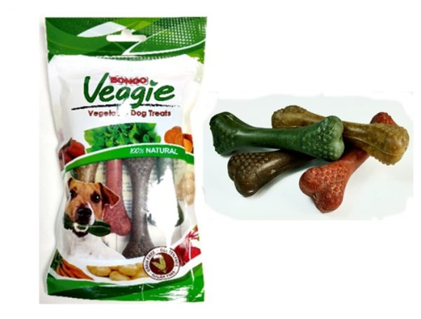 VEGGIE NUBBY BONE 4 PACK